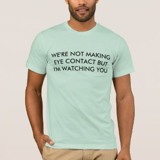 Camiseta contacto visual