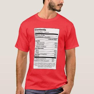 Camiseta Contenido del ser humano del 100%
