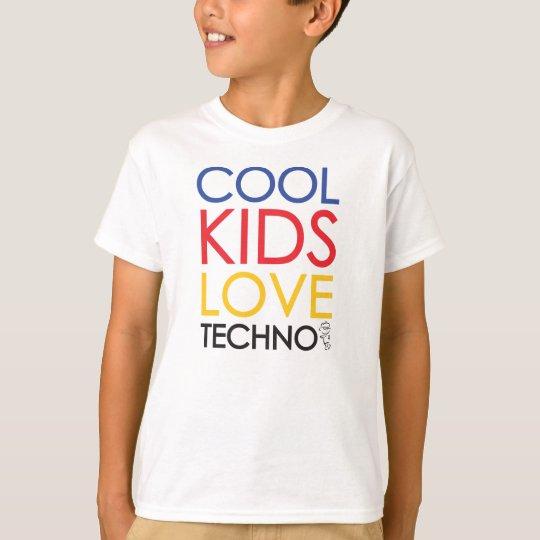 Camiseta Cool Kids Love Techno Shirt