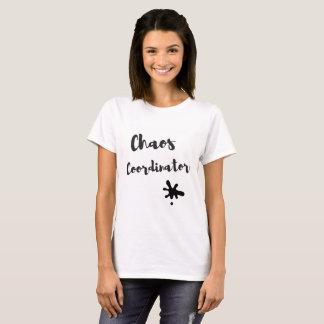 Camiseta Coordinador del caos