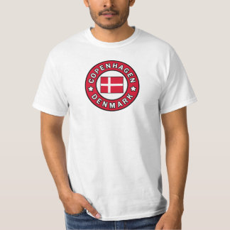 Camiseta Copenhague Dinamarca