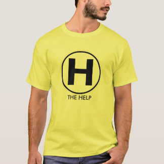 Camiseta copia del logotipo, LA AYUDA - modificada para
