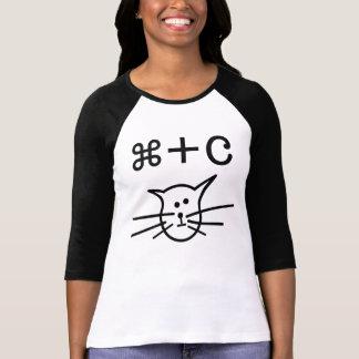 Camiseta Copie el gato (el mac)