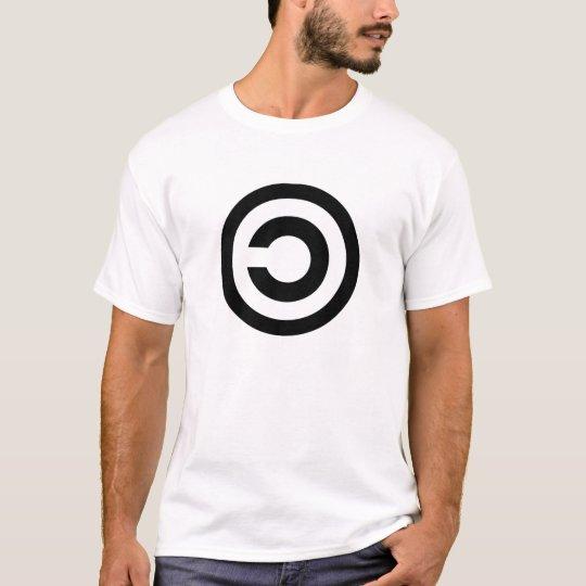 Camiseta Copyleft