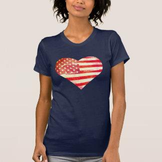 Camiseta Corazón americano