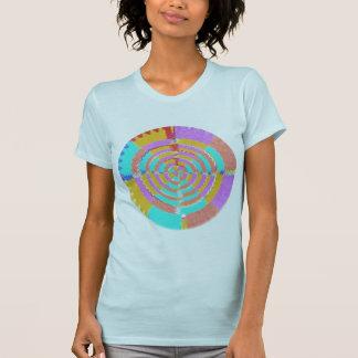 Camiseta Corazón Chakra - sienta su presencia que sea
