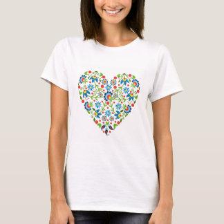 Camiseta corazón de la belleza en Polonia