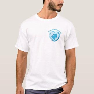 Camiseta Corazón de la conciencia del autismo