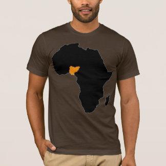 Camiseta Corazón de Nigeria de África