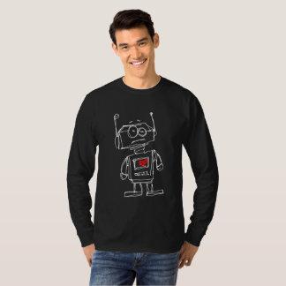 Camiseta Corazón de Sketchbot en)