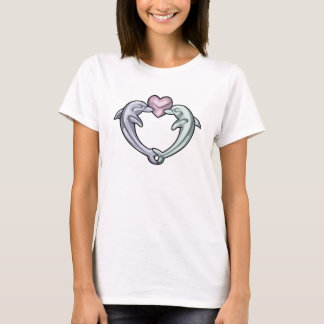 Camiseta Corazón del delfín