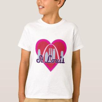 Camiseta Corazón del horizonte de St. Louis