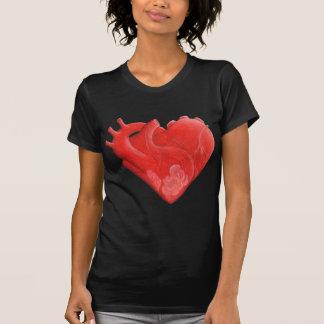 Camiseta Corazón en forma de corazón
