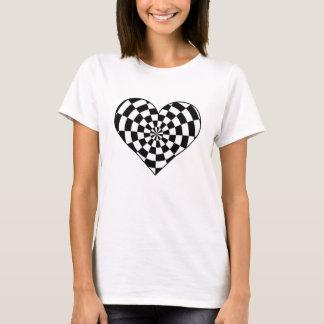 Camiseta Corazón enrrollado punky