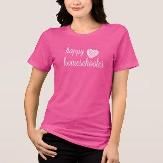 Camiseta Corazón feliz de Homeschooler