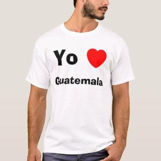 Camiseta Corazón Guatemala de Yo