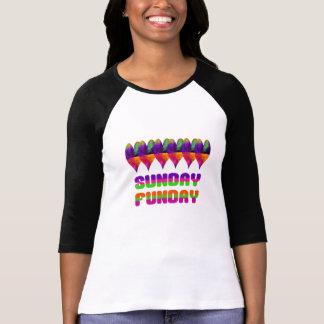 Camiseta Corazón jamaicano domingo Funday