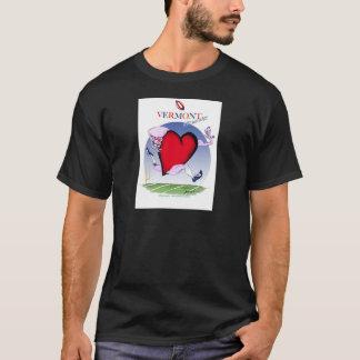 Camiseta Corazón principal de Vermont, fernandes tony