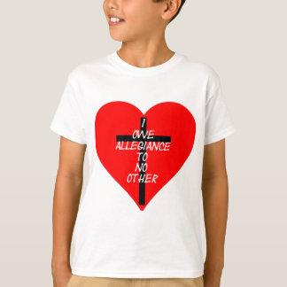 Camiseta Corazón rojo y cruz de IOATNO