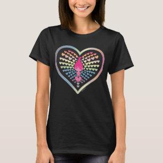 Camiseta Corazones de la amapola de los duendes el  
