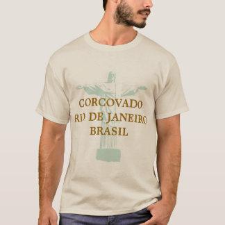Camiseta corcovado riodejaneiro el Brasil