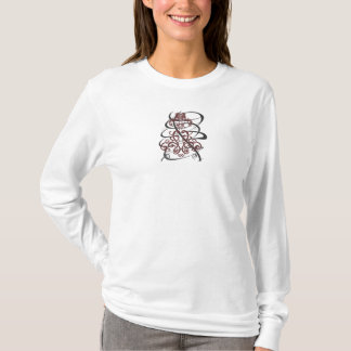 Camiseta Cordón remolinado 2 con remolino agrietado