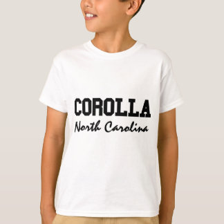 Camiseta Corolla Carolina del Norte