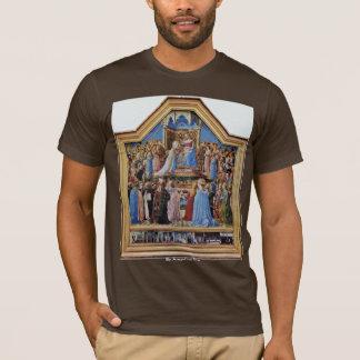 Camiseta Coronación de la Virgen, y escenas a partir de la