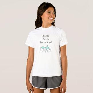 Camiseta Corra como un chica