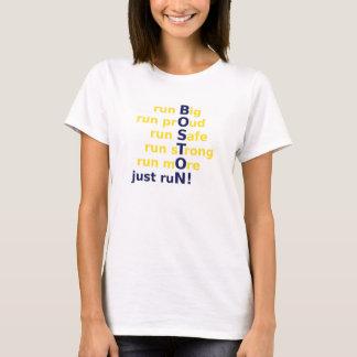 Camiseta corra grande, orgulloso, seguro, fuerte, y más