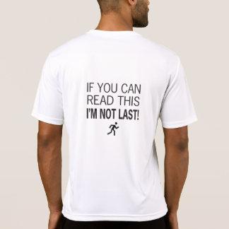 Camiseta Corredor de maratón si usted puede leer esto