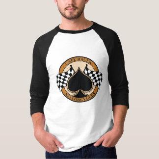 Camiseta Corredor/motocicleta del café