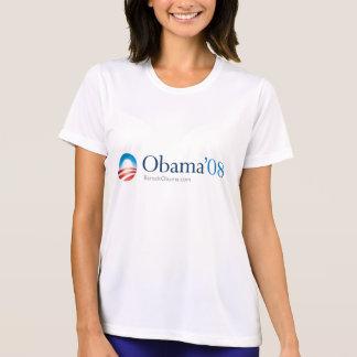 Camiseta ¡Corredores para Obama!