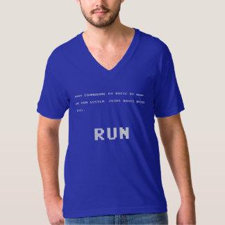 Camiseta corrida del comodoro 64