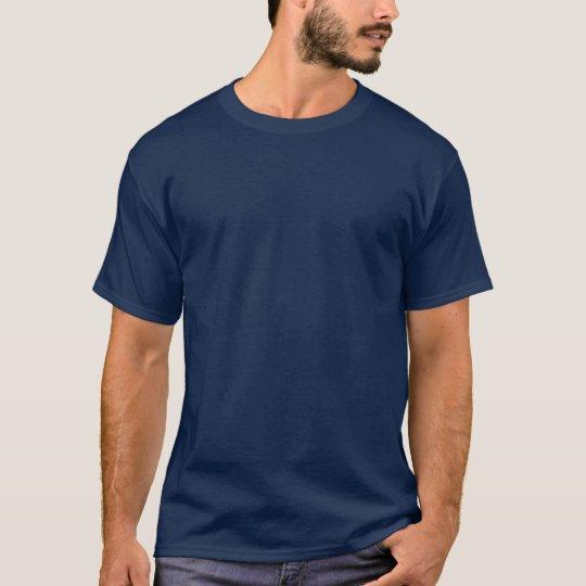Camiseta corriente posterior de la parte posterior