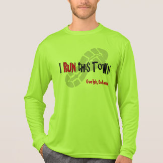 Camiseta Corro esta ciudad - Deporte-Tek de encargo LS
