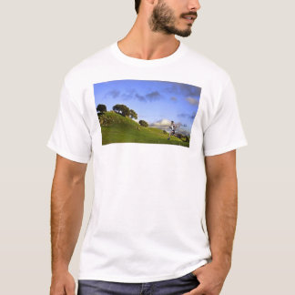 Camiseta ¡Corro para la colina de ella! (en la parte