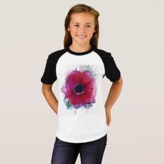 Camiseta corta #1 del raglán de la manga de los