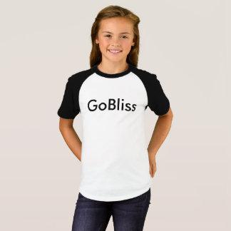 Camiseta corta de GoBliss de la manga de los