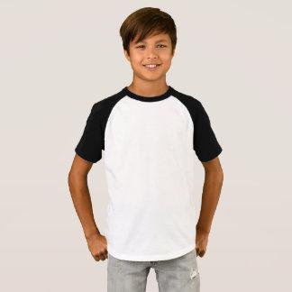 Camiseta corta del raglán de la manga de los