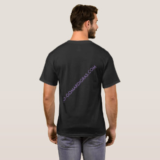 Camiseta corta del WEB del CARNAVAL de SleeveBLACK