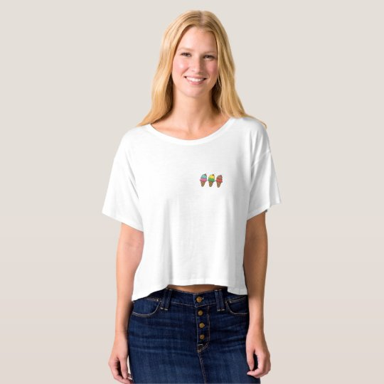 Camiseta corta Ice Cream