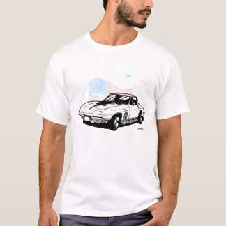 Camiseta Corvette clásico