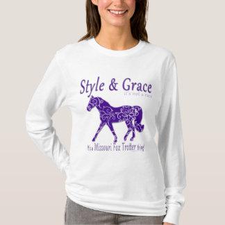 Camiseta Cosa del trotón del Fox de Missouri del estilo y