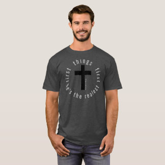 Camiseta Cosas primer 72marketing religioso de Jesús de