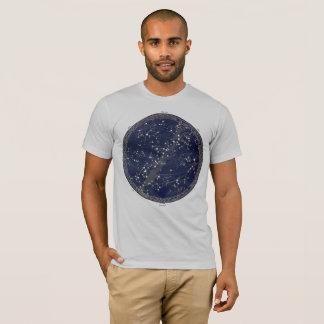 Camiseta Cosmos celestial del espacio de la impresión de la