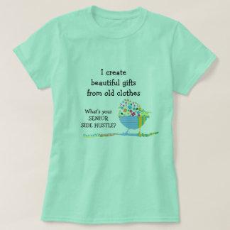 Camiseta Coso prisa lateral mayor de los regalos hermosos