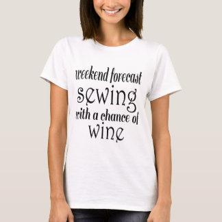 Camiseta Costura y vino