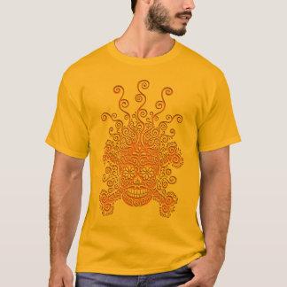 Camiseta Cráneo antiguo II del recorte