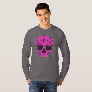 Camiseta Cráneo artístico (rosa)
